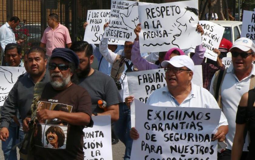 Las autoridades del sureño estado mexicano de Chiapas detuvieron a un hombre que presuntamente está vinculado con el asesinato del periodista Mario Gómez, ocurrido el pasado 22 de septiembre en las afueras de su domicilio. EFE/Archivo