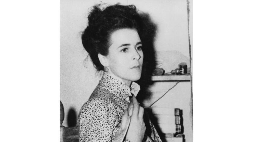 Author Leonora Carrington, 1945.
