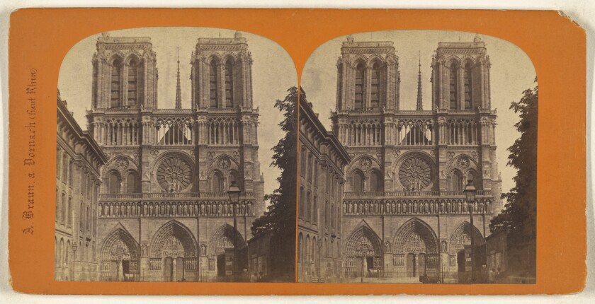 Notre Dame at the Getty: 38 works evoking beauty and loss from a 'symphony of stone'