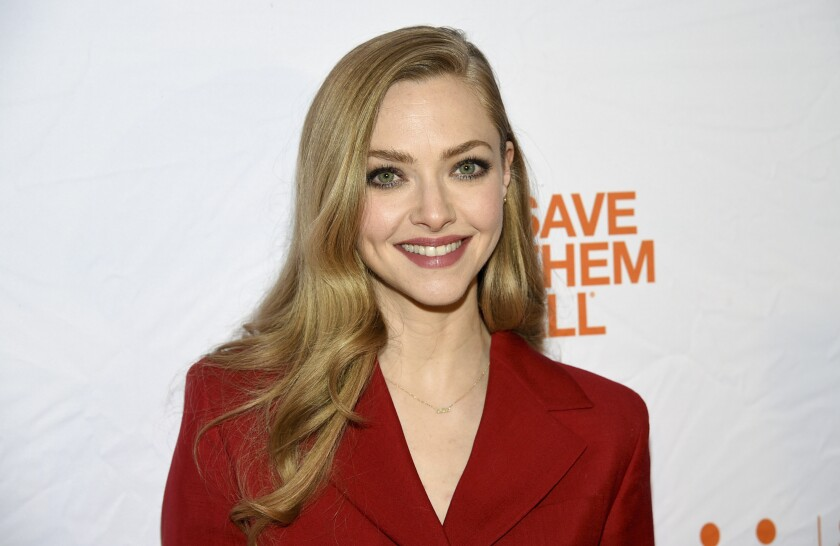 La actriz Amanda Seyfried en la cuarta gala anual de Best Friends Animal Society en Nueva York