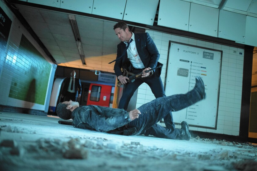 "Gerard Butler in ""London Has Fallen."