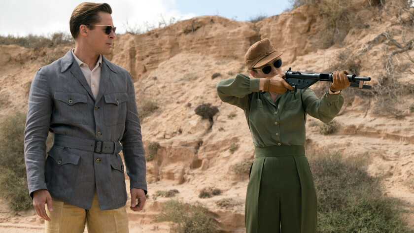 """Brad Pitt plays Max Vatan and Marion Cotillard plays Marianne Beausejour in """"Allied."""""""