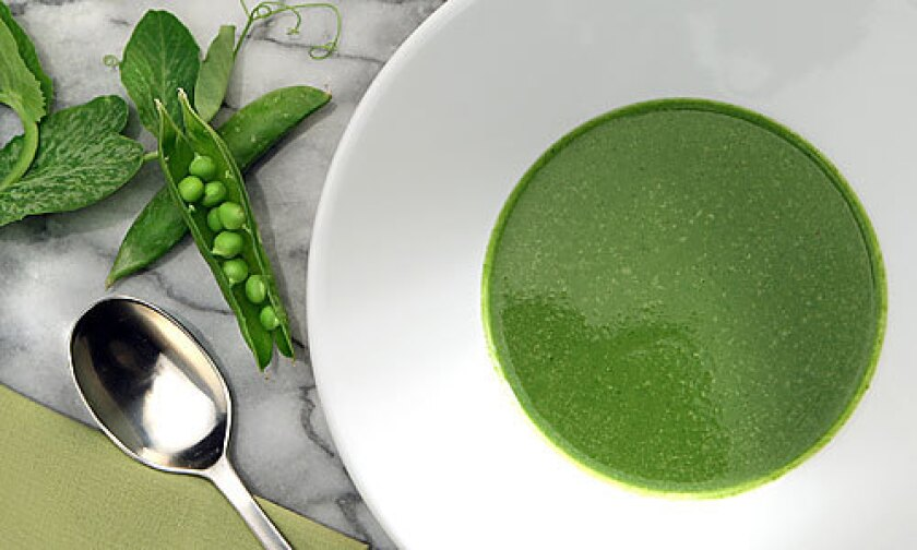 Pea soup from L.A. Mill