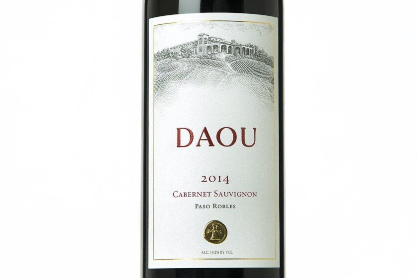 The label for the 2014 Daou Cabernet Sauvignon depicts the winery's bucolic high-elevation location in Paso Robles.