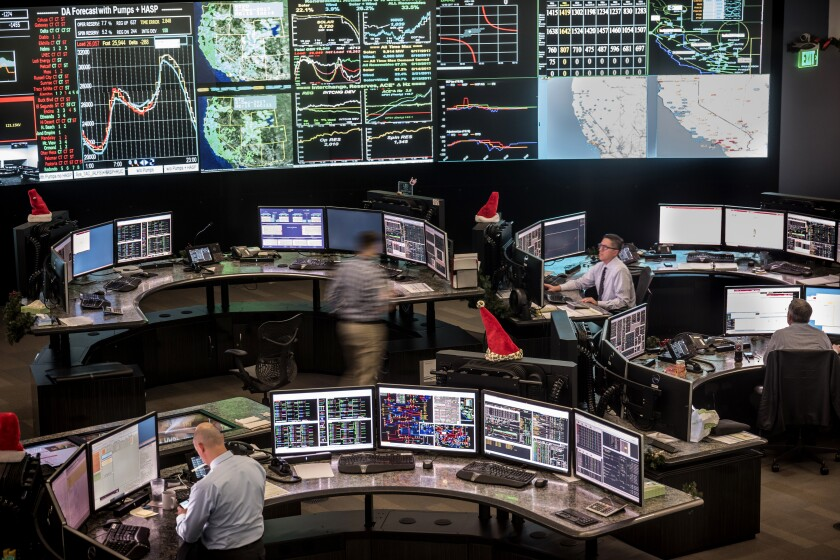 California ISO control room