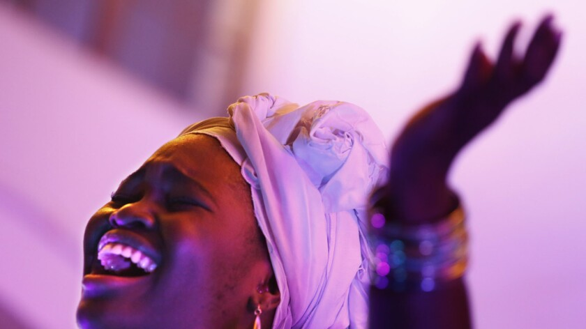 Cuban vocalist Dayme Arocena makes her Los Angeles debut Monday at the Center for the Arts Eagle Rock.