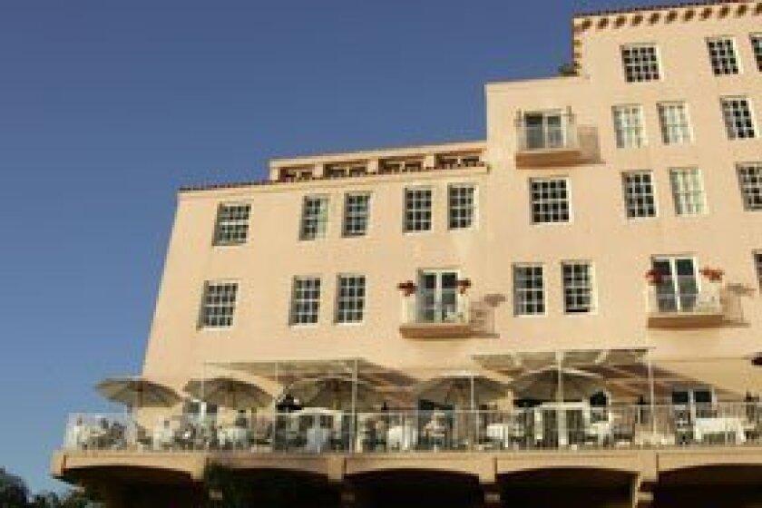 La Valencia Hotel is a La Jolla landmark. Photo: Kent Horner