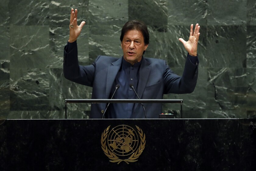 UN General Assembly Pakistan