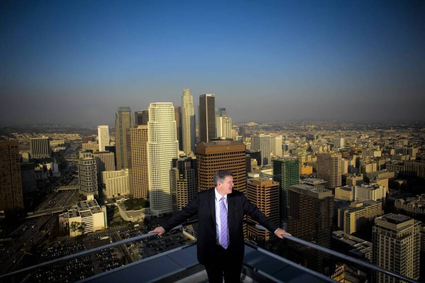 Tim Leiweke, who departed Thursday as head of entertainment giant Anschutz Entertainment Group, played a pivotal role in Los Angeles government decisions that went well beyond sports and real estate.