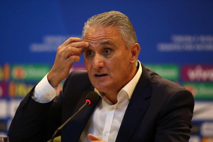 """Adenor Leonardo Bacchi """"Tite"""", director técnico del seleccionado brasileño. EFE/Archivo"""