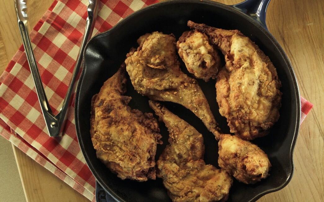Chicken-fried rabbit