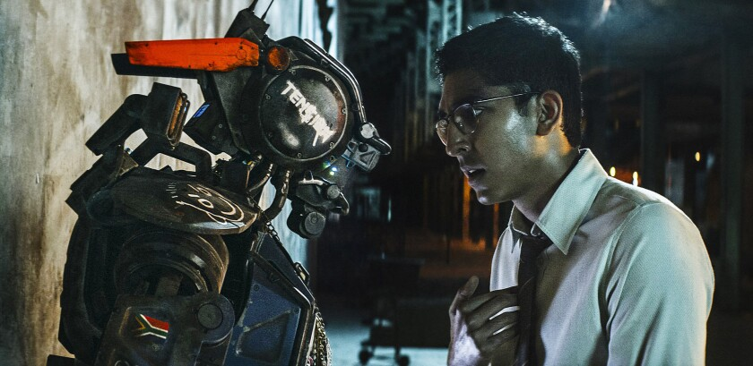 Scene from 'Chappie'