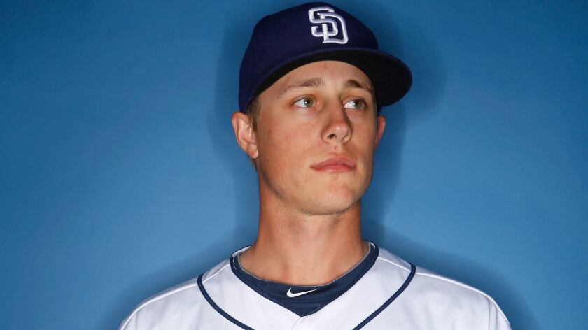 San Diego Padres pitcher Phil Maton.
