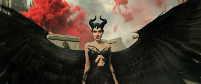 "Angelina Jolie in ""Maleficent: Mistress of Evil"""
