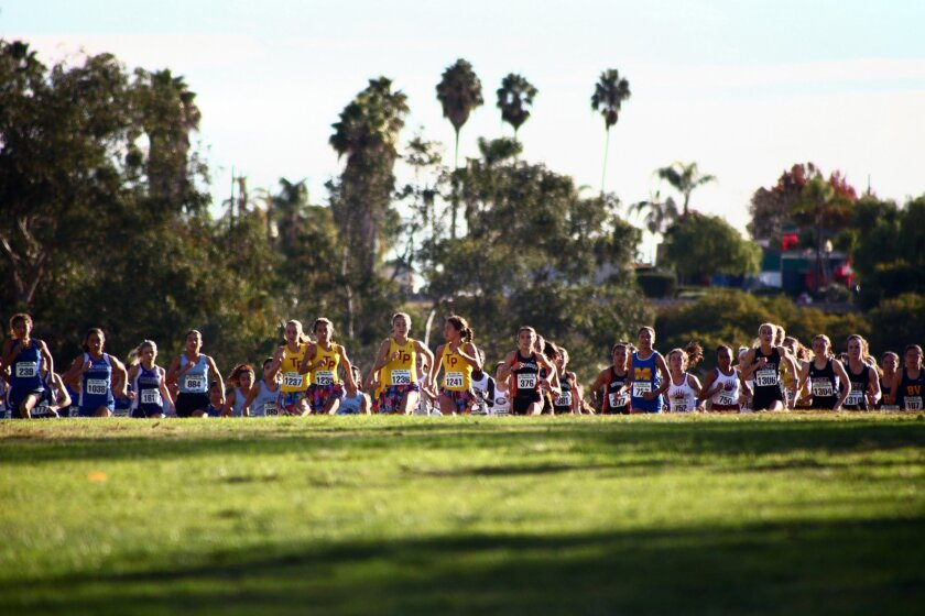 Torrey Pines is ranked No. 1 in girls cross country.