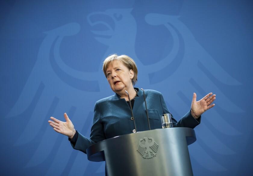 German Chancelllor Angela Merkel