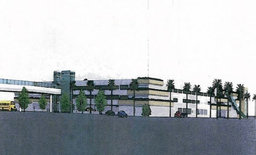 Structure could ease OCC parking woes