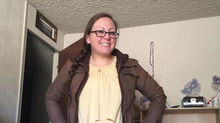 Christine Faith Armstrong, de 27 años de edad, y residente de Twentynine Palms. Ella fue una de los nueve soldados que perdieron la vida en un accidente en la base militar Ft. Hood.