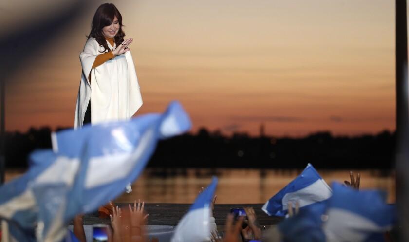 ARGENTINA-ELECCIONES CRISTINA FERNANDEZ