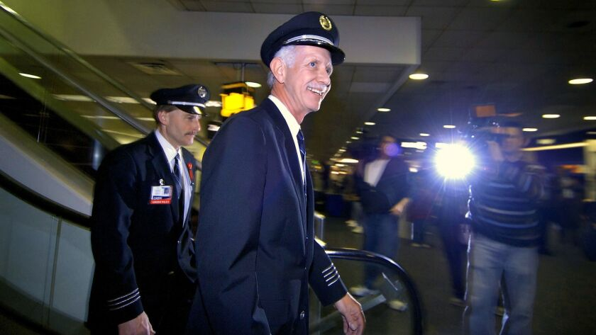 "Capt. Chesley ""Sully"" Sullenberger, who safely ditched US Airways Flight 1549 in the Hudson River in"
