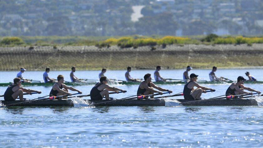 The 45th Crew Classic will take place Saturday and Sunday on Mission Bay.
