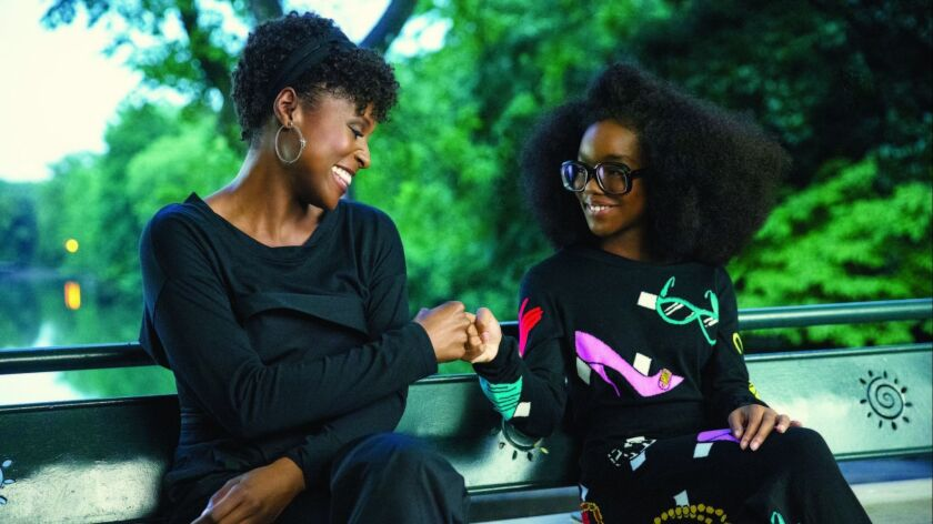 """Issa Rae (left) and Marsai Martin in the movie """"Little."""""""