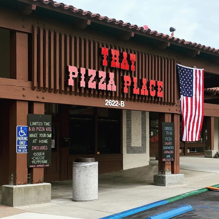 That Pizza Place in Carlsbad unexpectedly shut down in June after 43 years in business.