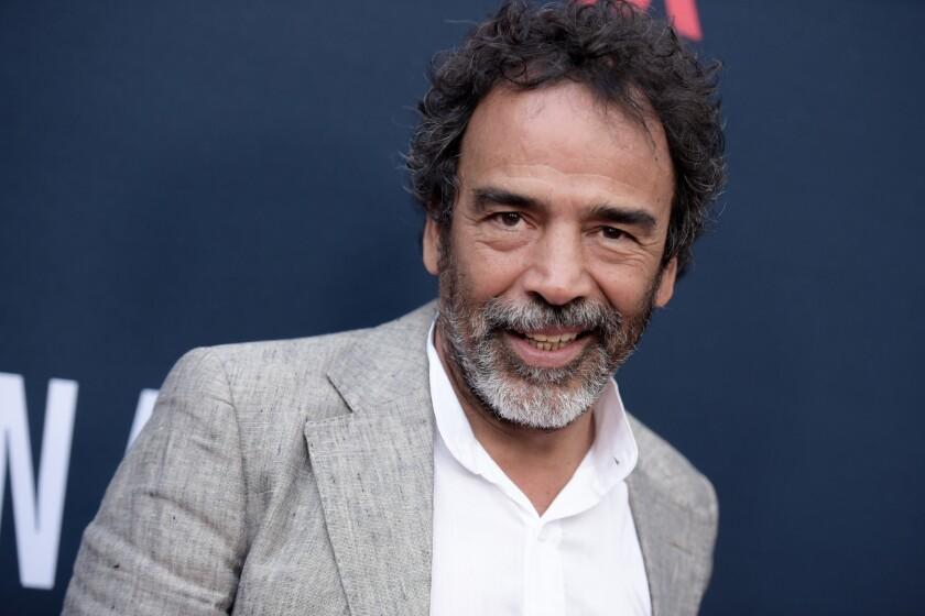 El actor mexicano Damián Alcazar.