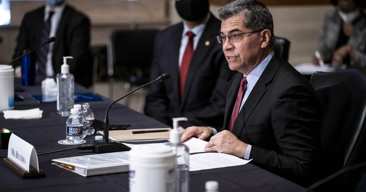 Letters to the Editor: Xavier Becerra isn't a doctor. Now the Republicans care about expertise?