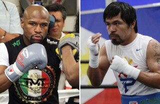 Mayweather vs. Pacquiao: Celebrities reveal their picks