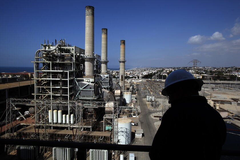 The Redondo Beach Generating Station gas-fired power plant