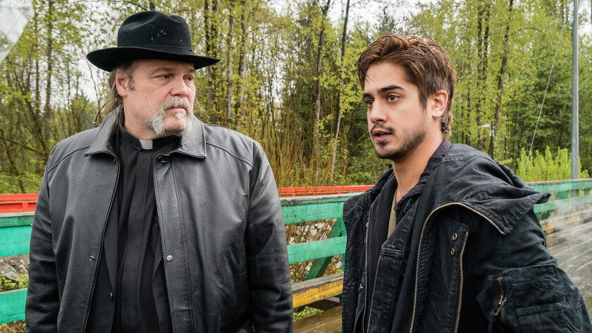 """Vincent D'Onofrio, left, and Avan Jogia in """"Ghost Wars"""" on Syfy."""