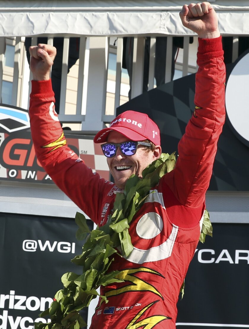 Dixon wins IndyCar race at Watkins Glen