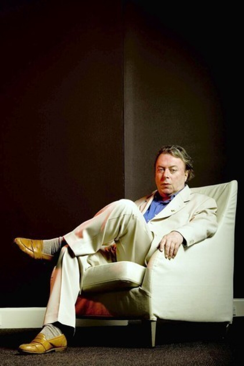 Christopher Hitchens on May 22, 2010, in Australia.