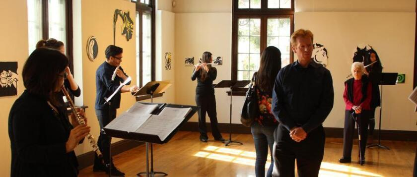 The Athenaeum Music & Arts Library will host the 10th annual SoundON Festival of Modern Music, a four-day long series of concerts, performances, workshops, lectures and art, Jan. 5-8, 2017 at 1008 Wall St., La Jolla.