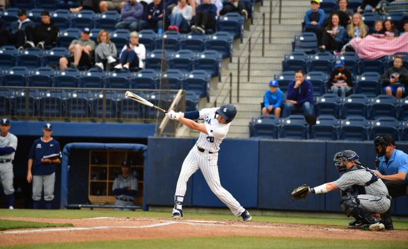 USD outfielder Chris McCready hit two grand slams in five days earlier this season.