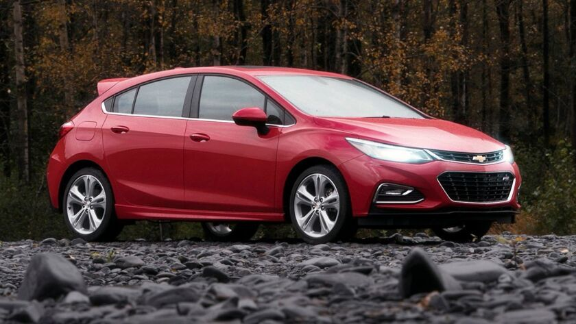 Chevrolet added the diesel engine to its compact-class Cruze sedan last year and added the five-door hatchback for 2018.