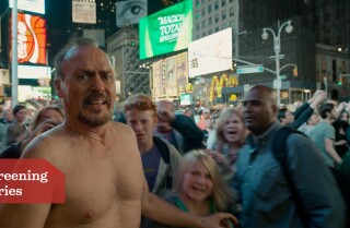 'Birdman': Shooting the Times Square scene