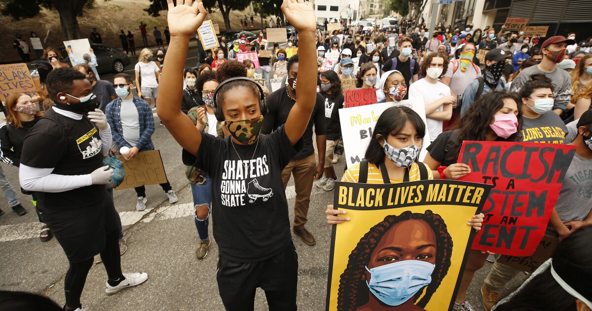 Op-Ed: Who tells the story matters. And that's why you need black journalists at every level in newsrooms