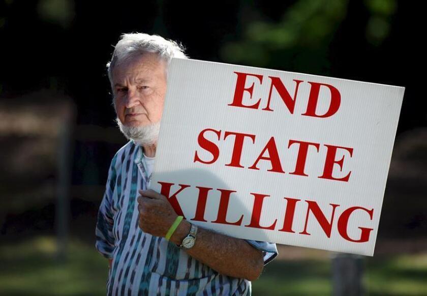 El estado de Texas tiene previsto ejecutar este jueves a Terry Edwards, un reo condenado a muerte por el asesinato en 2002 de dos trabajadores de un restaurante de comida rápida del que había sido despedido. EFE/ARCHIVO