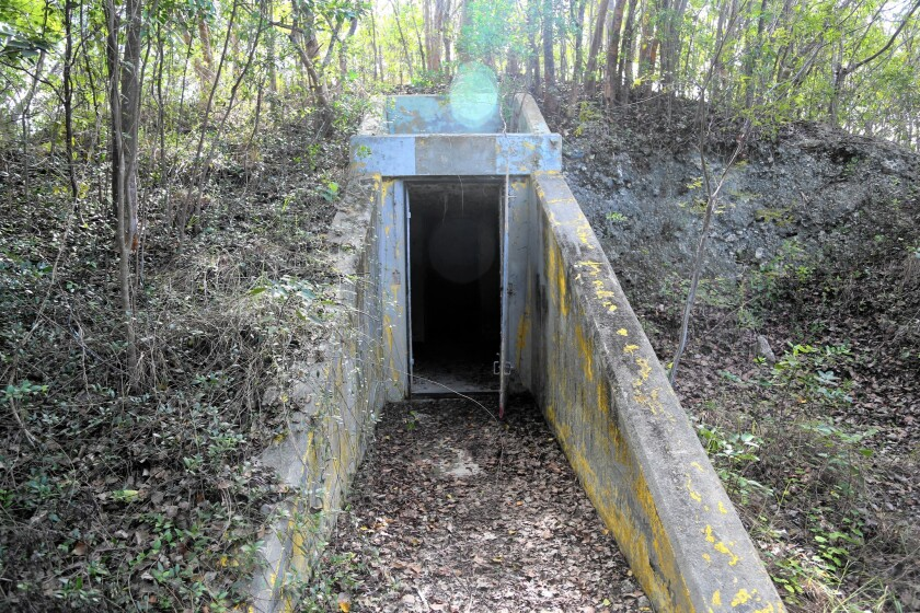 A former missile site in Key Largo, Fla., is now a wildlife refuge.