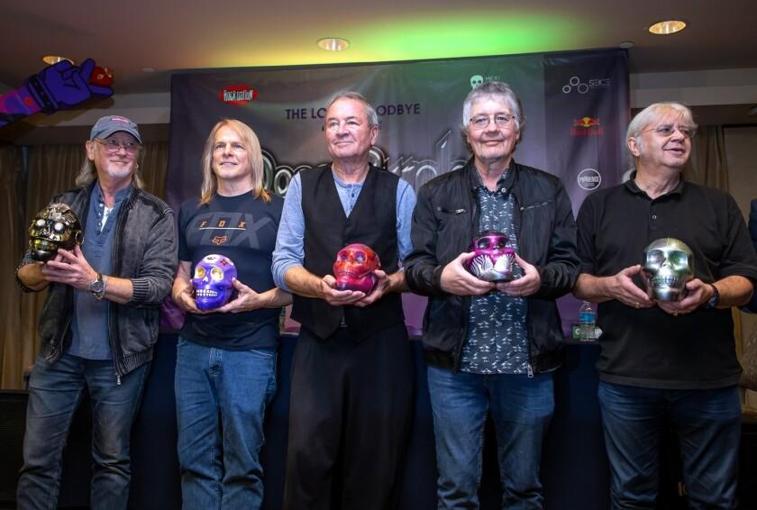 Deep Purple terminará su tour de 10 fechas en México en Cancún, el sábado 24 de noviembre.