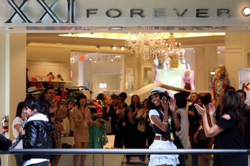 Forever 21 investigated for vendors' alleged 'sweatshop' conditions