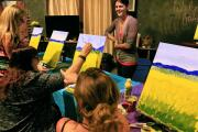 Paint & Wine Party Test drive