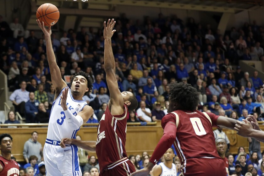 Boston College Duke Basketball