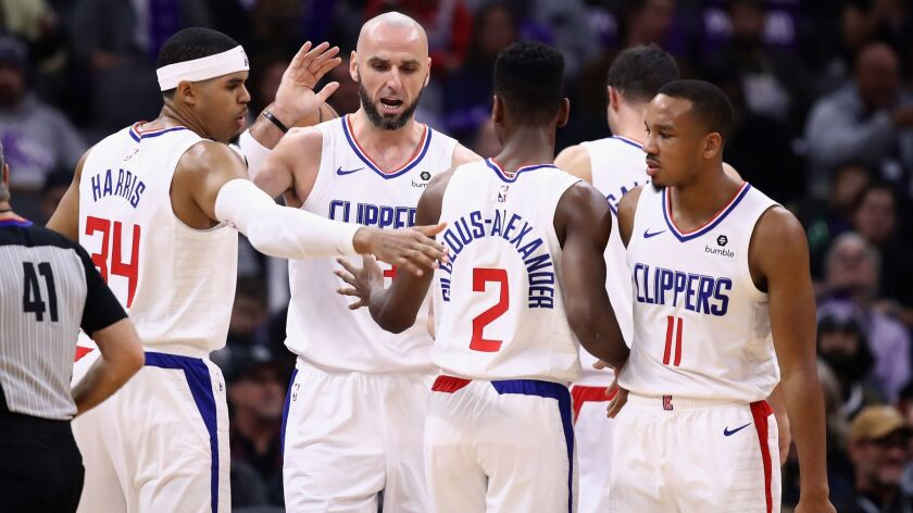 Los Angeles Clippers v Sacramento Kings