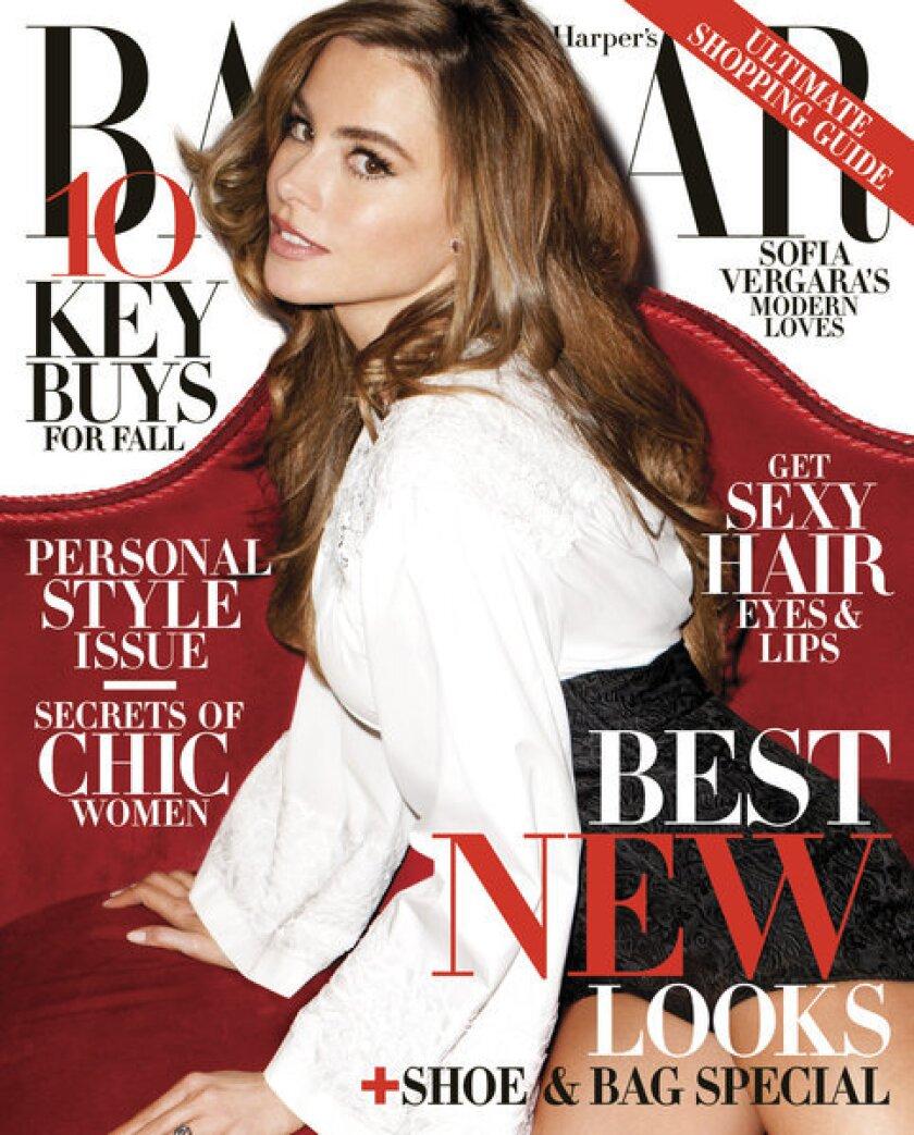 Sofia Vergara in Harper's Bazaar
