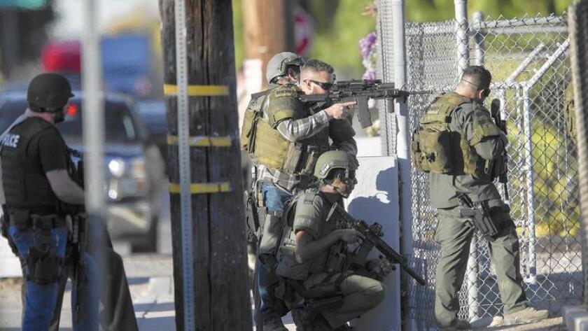 Tercer tirador en San Bernardino