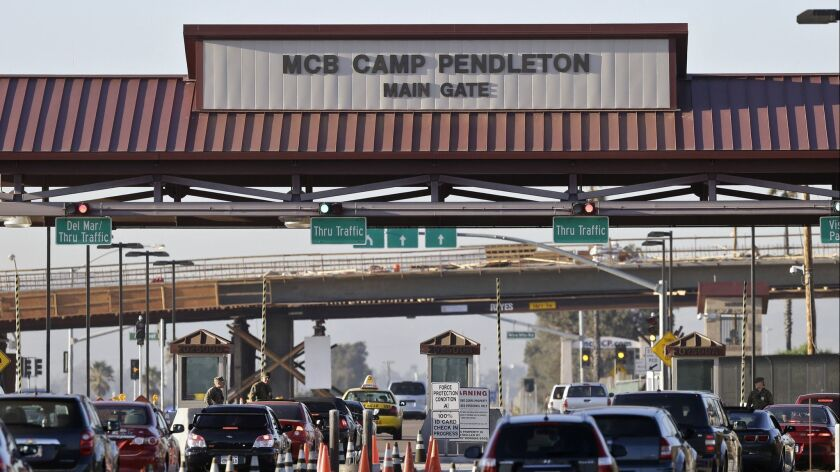"A new ""Base Mode"" from Lyft matches Camp Pendleton riders with drivers cleared for on-base pickups."