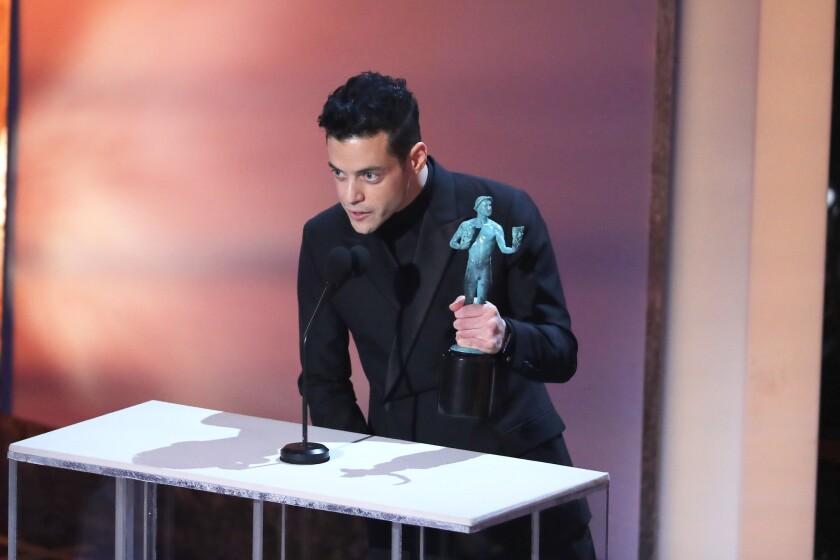 Rami Malek se hizo acreedor a un premio especialmente relevante en la ceremonia de los Premios del SAG.